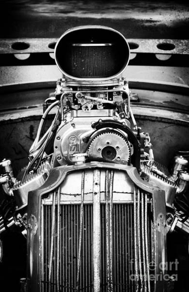Street Rod Photograph - Rat Rod Power by Tim Gainey