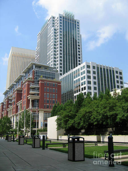 Photograph - Ratcliffe Condos And Wells Fargo Towers by Jill Lang