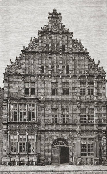 German Renaissance Drawing - Rattenf by Vintage Design Pics