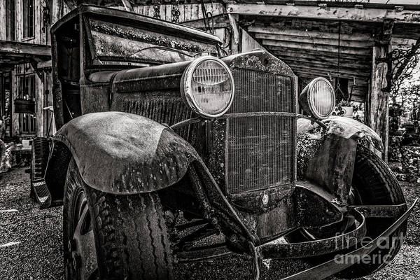 Clunker Wall Art - Photograph - Rattle Trap by Charles Dobbs