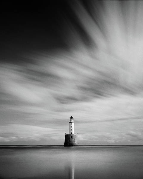 Photograph - Rattray Head Lighthouse II by Dave Bowman