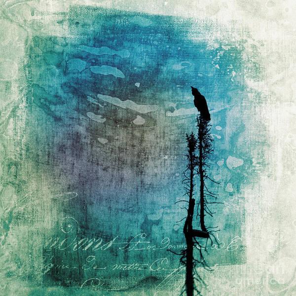 Wall Art - Photograph - Raven Call 5 by Priska Wettstein