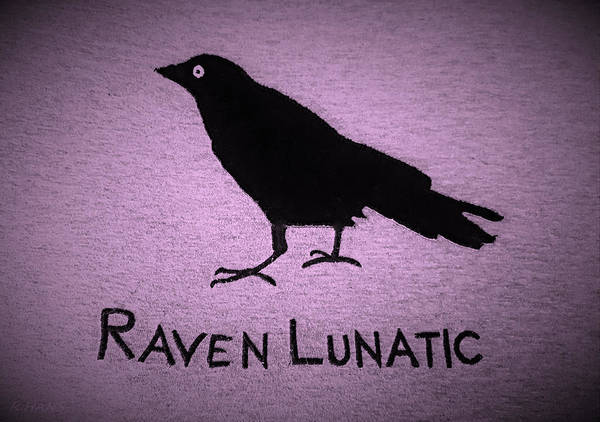 Photograph - Raven Lunatic Pink by Rob Hans