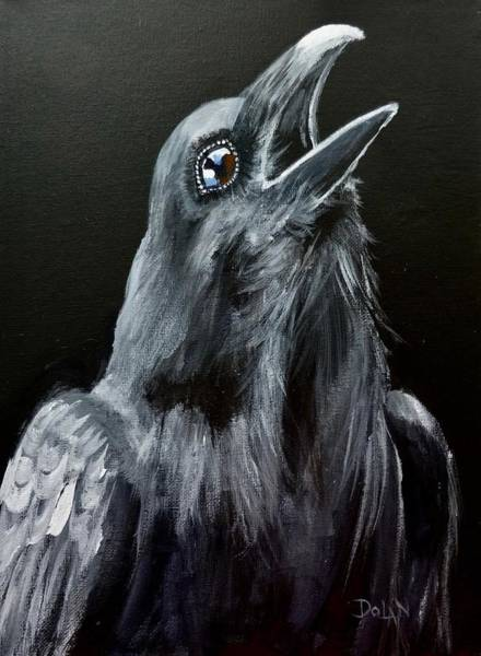 Painting - Raven Song by Pat Dolan