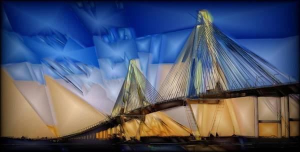 Charleston Digital Art - Ravenel At Dusk by Jon Glaser