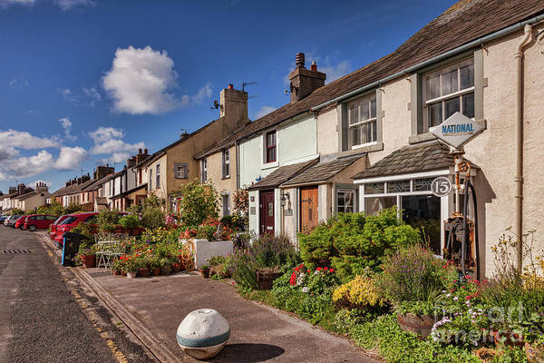 Wall Art - Photograph - Ravenglass Cottages by Colin and Linda McKie