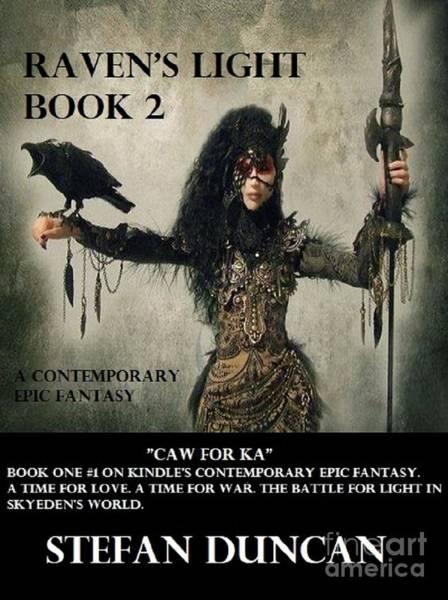 Digital Art - Raven's Light Book 2 by Stefan Duncan