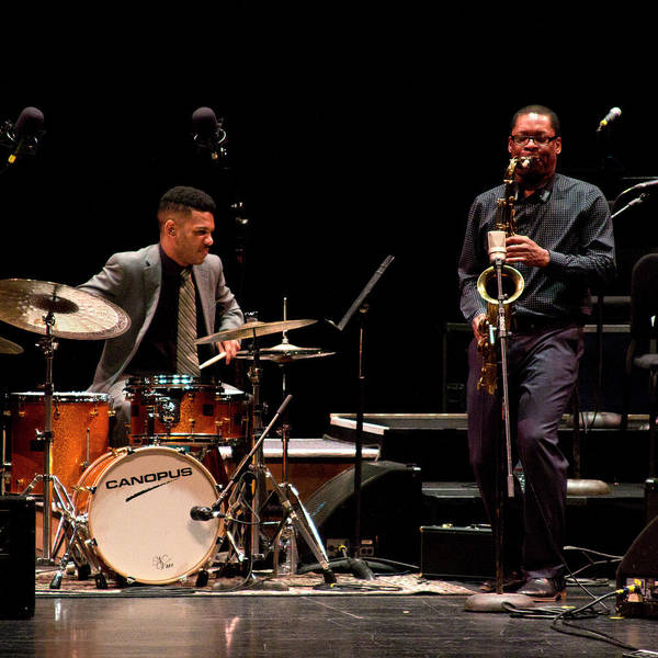 Photograph - Ravi Coltrane And Mark Whitfield Jr 2 by Lee Santa