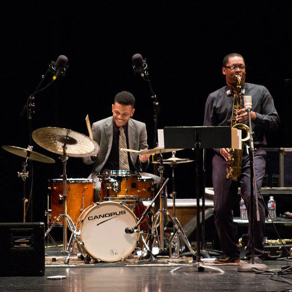 Photograph - Ravi Coltrane And Mark Whitfield Jr 4 by Lee Santa