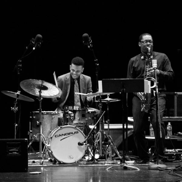 Photograph - Ravi Coltrane And Mark Whitfield Jr 5 by Lee Santa