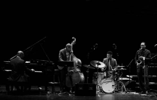 Photograph - Ravi Coltrane And The Orrin Evans Trio 7 by Lee Santa