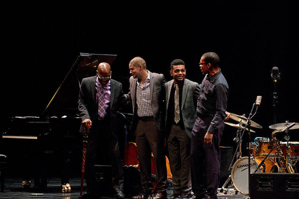 Photograph - Ravi Coltrane With The Orrin Evans Trio 11 by Lee Santa