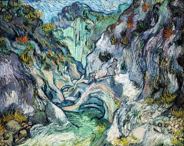 Painting - Van Gogh Ravine by Vincent Van Gogh