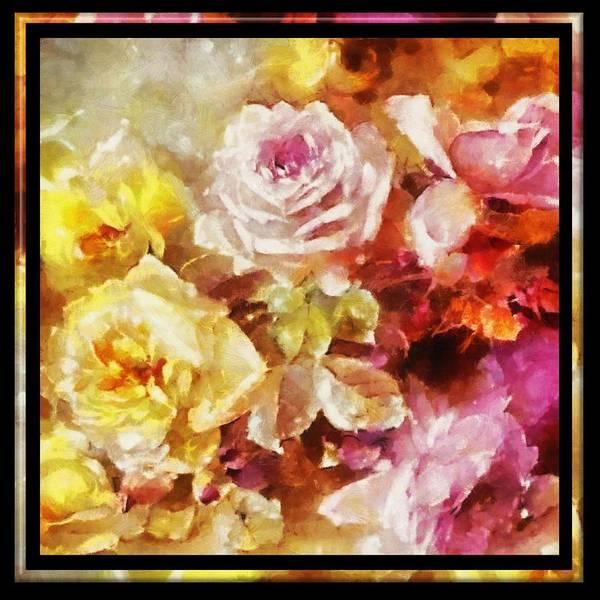 Digital Art - Ravishing Roses by Charmaine Zoe
