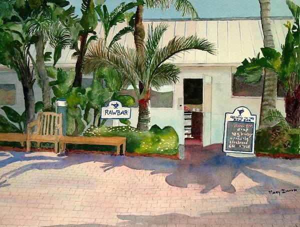 Casual Painting - Raw Bar by Mary Zwirn