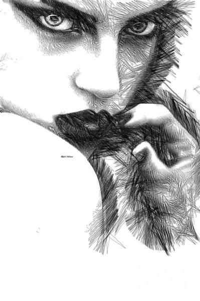 Digital Art - Raw Emotions 1278 by Rafael Salazar