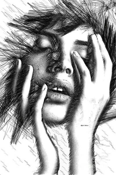 Digital Art - Raw Emotions 1286 by Rafael Salazar