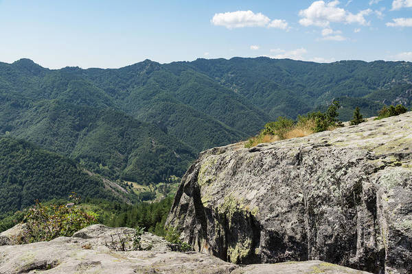 Photograph - Raw Rock Power - Ancient Thracian Ceremonial Site Belintash by Georgia Mizuleva