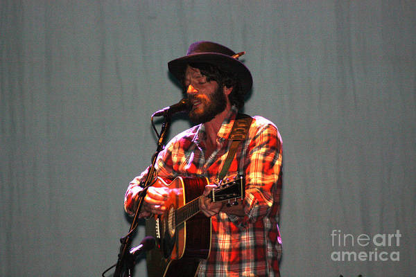 Ray Lamontagne Photograph - Ray Lamontagne-9039 by Gary Gingrich Galleries