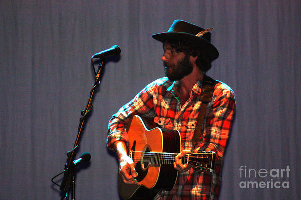 Ray Lamontagne Photograph - Ray Lamontagne-8937 by Gary Gingrich Galleries