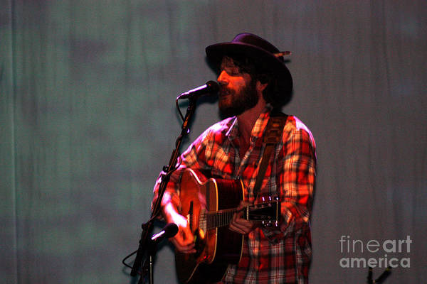Ray Lamontagne Photograph - Ray Lamontagne-9124 by Gary Gingrich Galleries