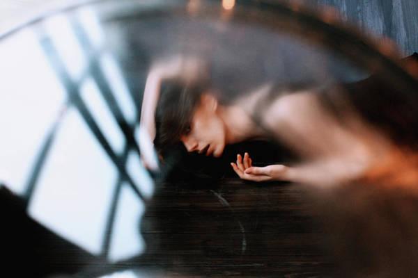 Sfx Photograph - Ray Of Dark by Alexander Kuzmin