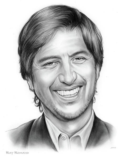 Actor Drawing - Ray Romano by Greg Joens