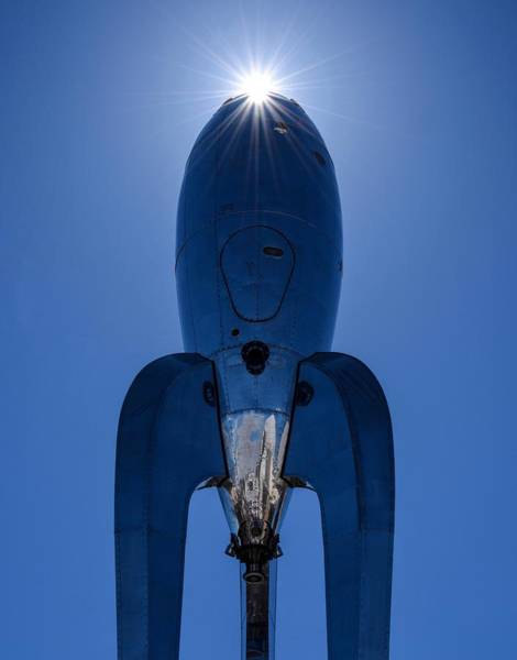 Photograph - Raygun Gothic Rocketship by Rand