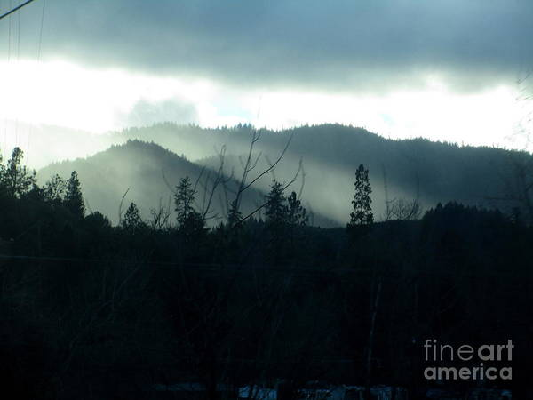 Photograph - Rays And Darkness by Marie Neder