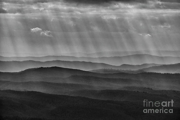 Photograph - Rays And Ridges by Thomas R Fletcher