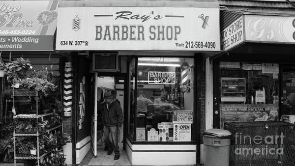 Photograph - Ray's Barbershop by Cole Thompson