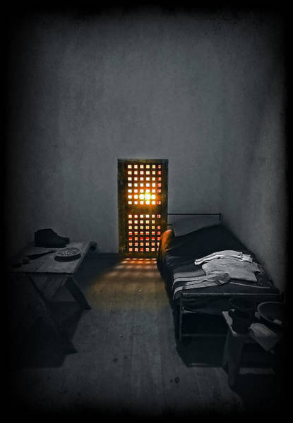 Prison Photograph - Rays Of Freedom by Evelina Kremsdorf