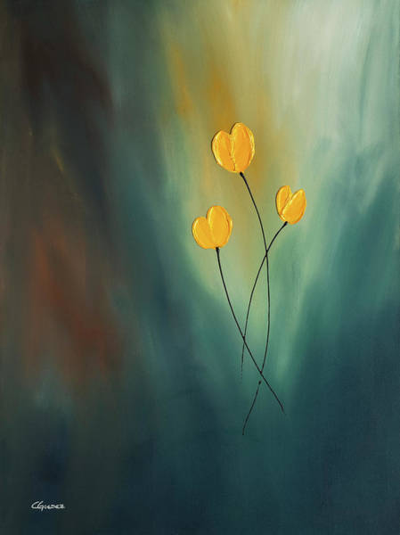Painting - Rays Of Hope by Carmen Guedez