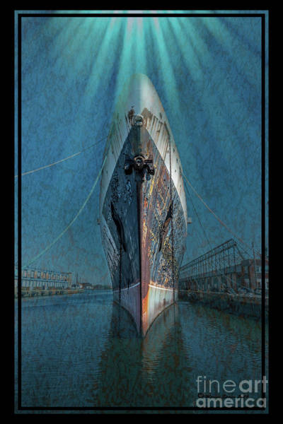 Cruise Ship Photograph - Rays Of Hope by Marvin Spates