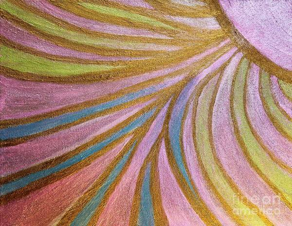 Painting - Rays Of Hope by Rachel Hannah