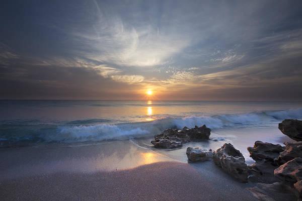 Boynton Photograph - Rays On The Waves by Debra and Dave Vanderlaan