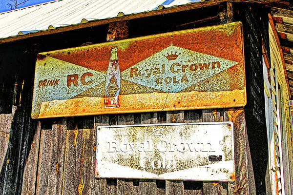 Photograph - Rc Crown Cola by Dale R Carlson