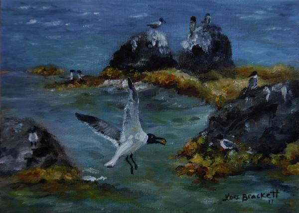Painting - Re-tern-ing Home by Lori Brackett