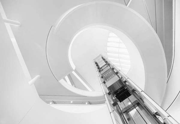 Stairs Wall Art - Photograph - Reach For The Sky by Jeroen Van De Wiel