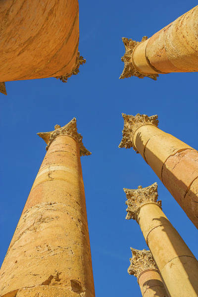 Jerash Photograph - Reach For The Sky by Nicola Nobile