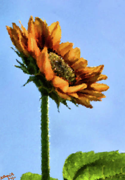 Painting - Reach For The Sun by Kristin Elmquist