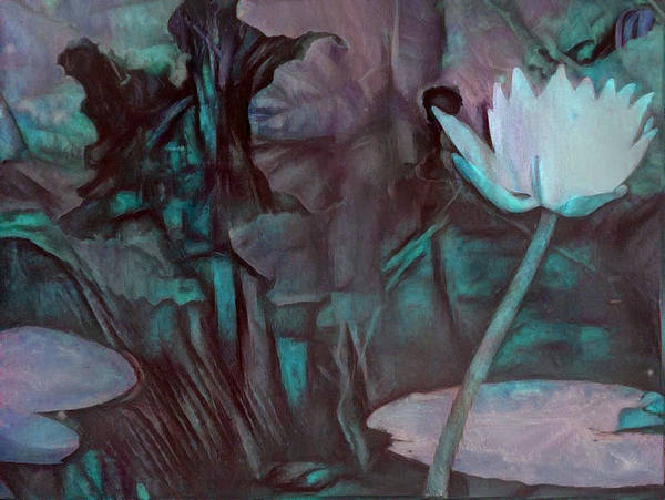 Digital Art - Reaching For The Light by Richard Laeton