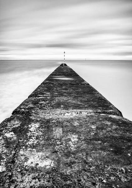 Wall Art - Photograph - Reaching Out To Sea by Nigel Jones