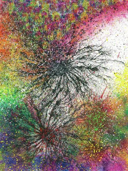 Hallucination Painting - Reaching The Transcendent Realm #578 by Rainbow Artist Orlando L