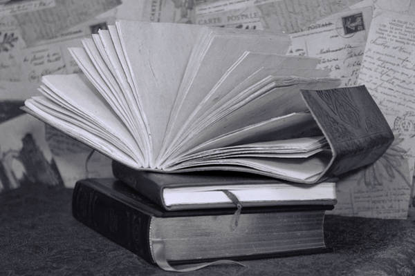 Photograph - Reading In Black And White by Pamela Walton