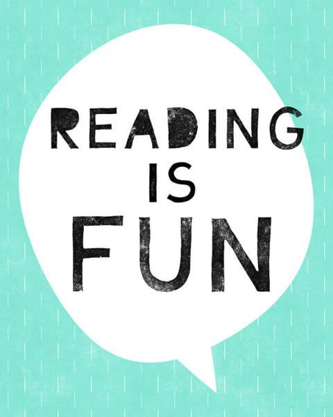 Digital Art - Reading Is Fun- Art By Linda Woods by Linda Woods
