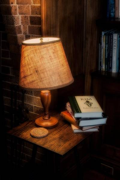 Photograph - Reading Light by Tom Singleton