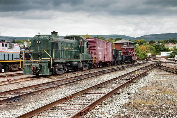 Photograph - Reading Locomotive 467  by Kristia Adams