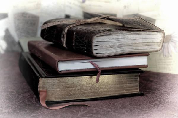 Mixed Media - Reading Material by Pamela Walton