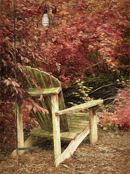 Photograph - Reading Nook by Rebecca Samler